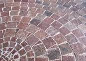 Natural Porphyry Stone Pavers show a variety of natural coloration