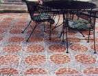 Mixed Design for Patio Pavers