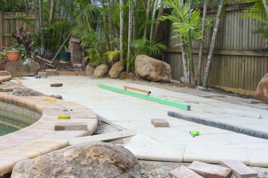 Natural Granite Stone Pavers - Granite patio pavers