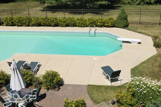swimming pool pavers