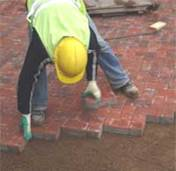 Installing Paving Blocks